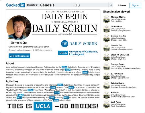 UCLA Genesis Qu | UCLA Daily Bruin