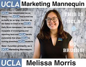 Melissa Morris, UCLA