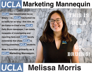 Melissa Morris, UCLA | Daily Bruin, Editor in Chief