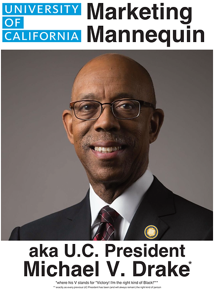 University of California President, Michael V. Drake