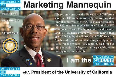 UC President, Michael Drake