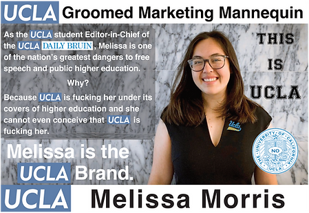 UCLA Daily Bruin, Melissa Morris