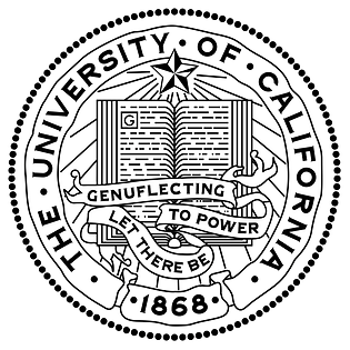 UC seal & motto: Let There Be Genuflecting to Power