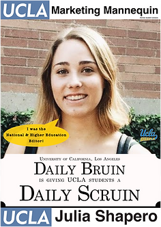 Julia Shapero, UCLA Daily Bruin, former National & Higher Education Editor