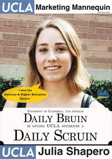 Julia Shapero, UCLA | Daily Bruin, former National & Higher Education Editor