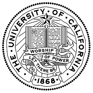 UC seal & motto: Let There Be Worship of Power
