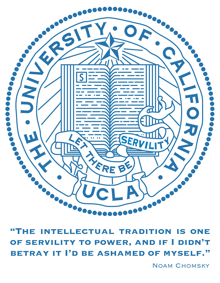 UCLA; Intellectual Tradition, Noam Chomsky