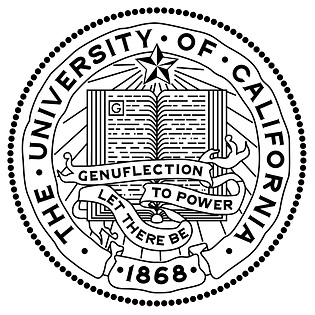 UC seal & motto: Let There Be Genuflection to Power