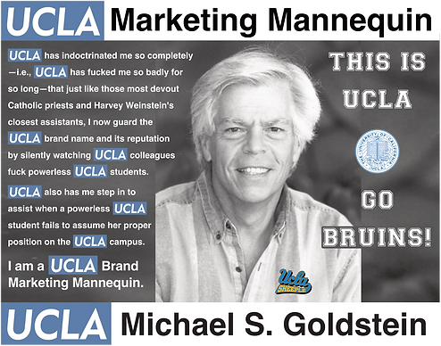 Michael Goldstein, UCLA