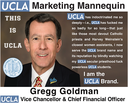 Gregg Goldman, UCLA Vice Chancellor & Chief Financial Officer