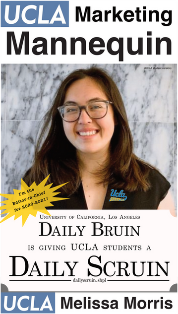 Melissa Morris | UCLA Daily Bruin, Editor-in-Chief