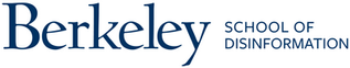 UC Berkeley School of Information wordmark (revised)