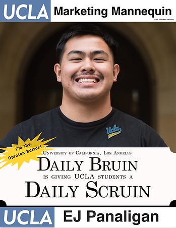 EJ Panaligan, UCLA Daily Bruin