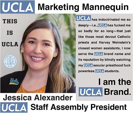 Jessica Alexander | UCLA Staff Assembly President