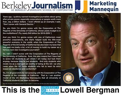 Lowell Bergman; UC Berkeley Journalism.png