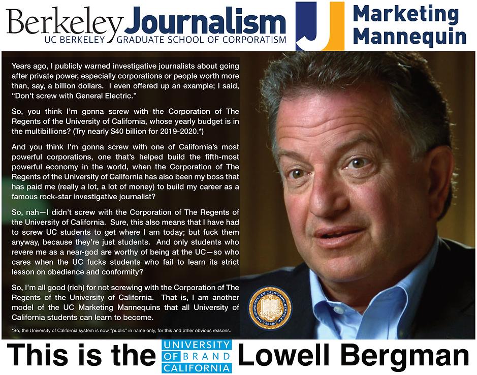 Lowell Bergman; Berkeley Journalism School.png