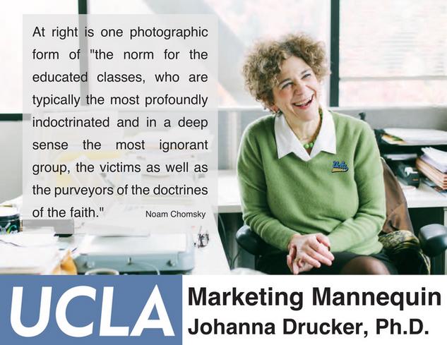 Johanna Drucker, Ph.D., UCLA Graduate School of Education & Information Studies