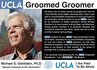 UCLA Mannequin Michael S. Goldstein