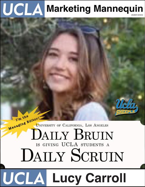 Lucy Carroll | UCLA Daily Bruin