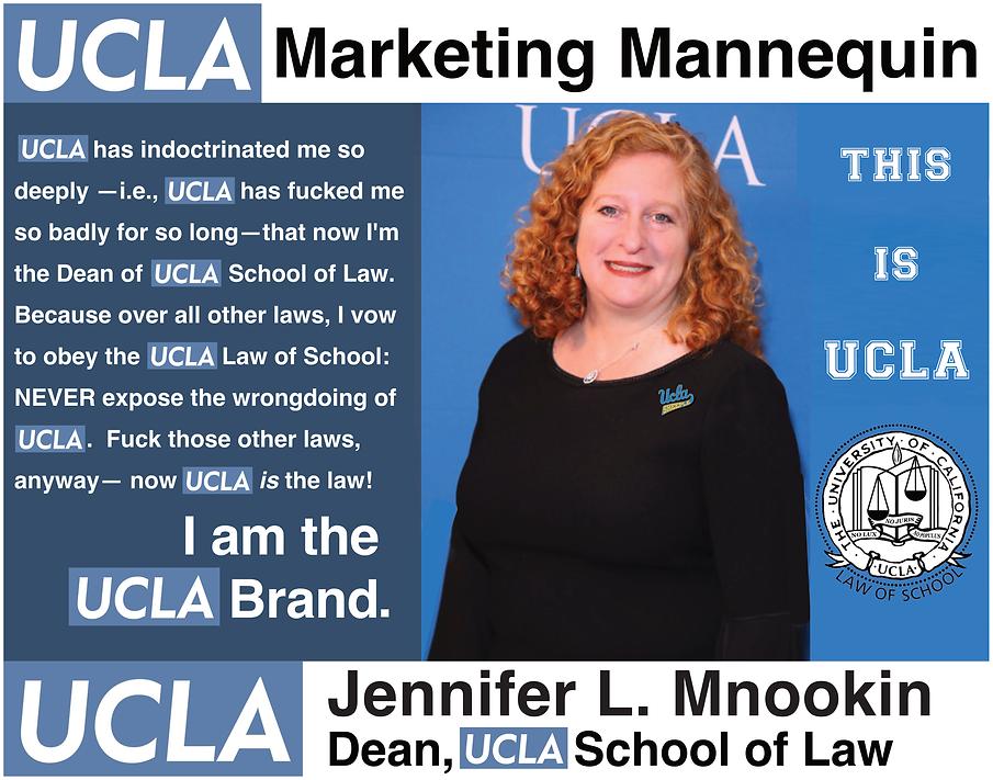 Jennifer Mnookin, Dean of UCLA Law School