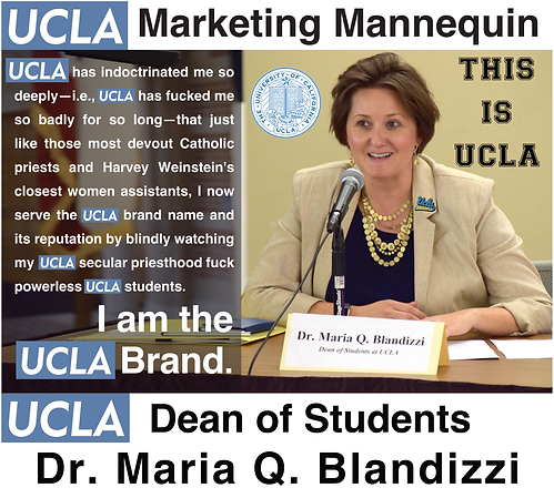 Maria Q. Blandizzi, UCLA Dean of Students
