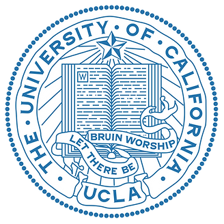 UCLA seal & motto: Let There Be Bruin Worship