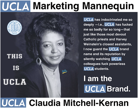 Claudia Mitchell Kernan, UCLA