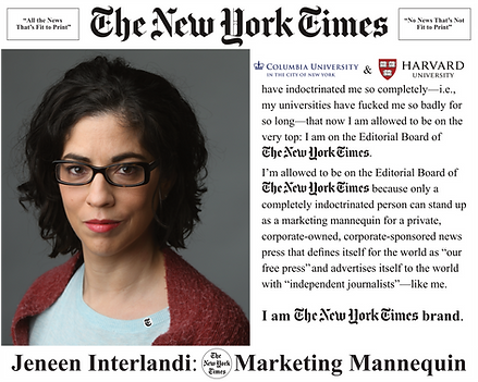 Jeneen Interlandi, NYT Editorial Board; The New York Times