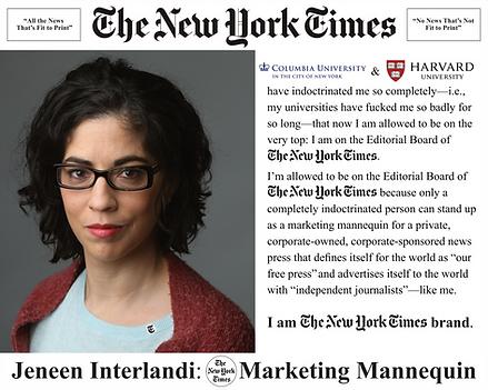 Jeneen Interlandi, NYT Editorial Board; The New York Times