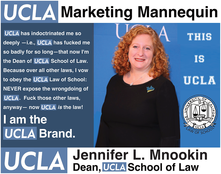 Jennifer L. Mnookin, Dean of UCLA Law School