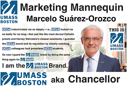 Marcelo Suárez-Orozco, Chancellor of UMass Boston