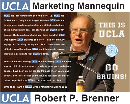Robert P. Brenner, UCLA History Department | This is UCLA