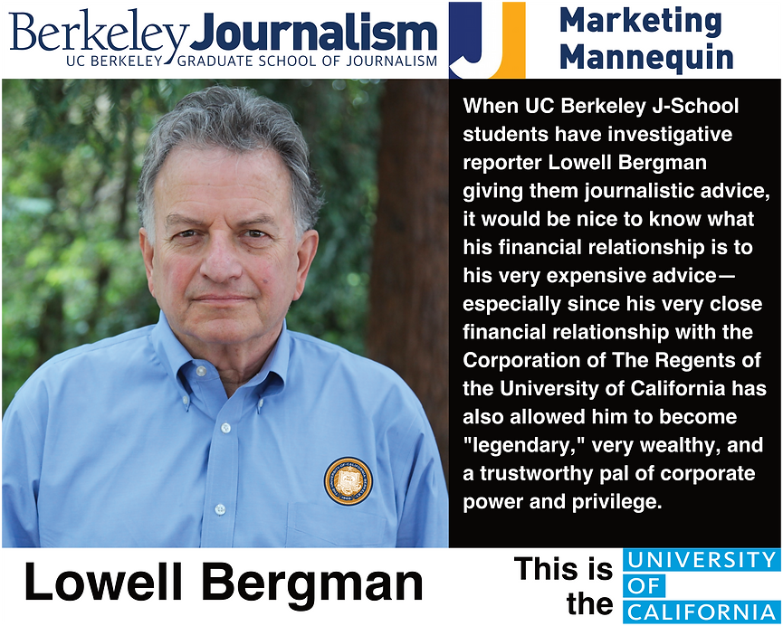 Lowell Bergman | UC Berkeley Graduate School of Journalism