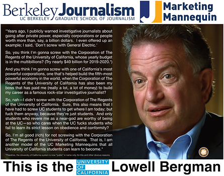 Lowell Bergman, UC Berkeley Journalism