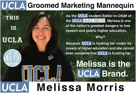 Melissa Morris, UCLA student & Daily Bruin editor in chief