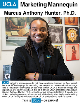 Marcus Anthony Hunter, UCLA Marketing Ma