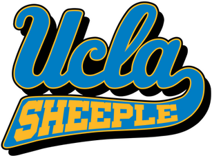 UCLA BRUINS = UCLA SHEEPLE logo
