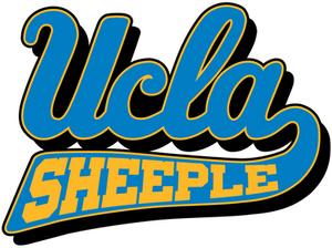 UCLA BRUINS = UCLA SHEEPLE logo