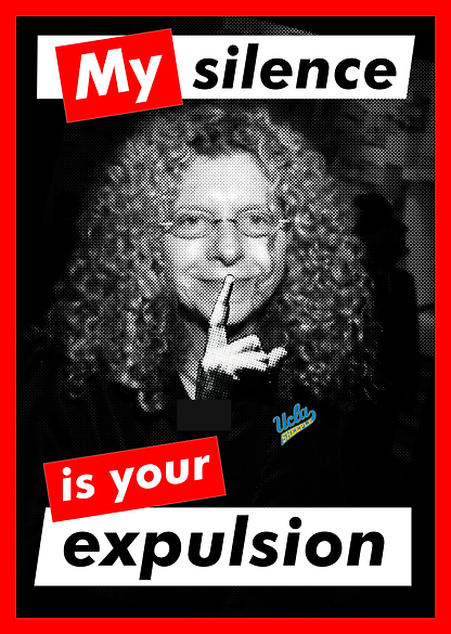 Barbara Kruger: My Silence Is Your Expulsion