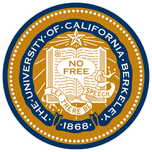 UC Berkeley seal & motto: Let There Be NO FREE Speech