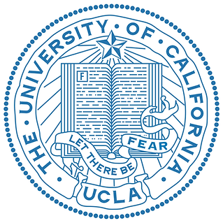 UCLA logo: let there be fear