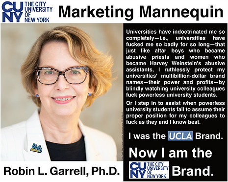 Robin Garrell; President, CUNY Graduate