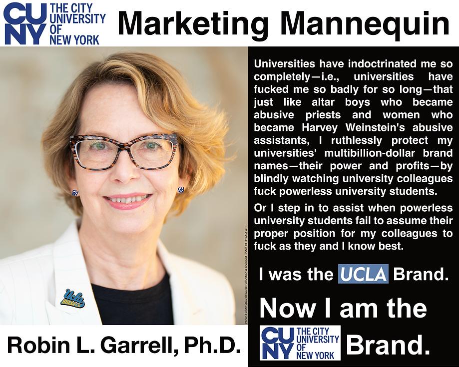 Robin Garrell, Ph.D.; President, CUNY Graduate Center