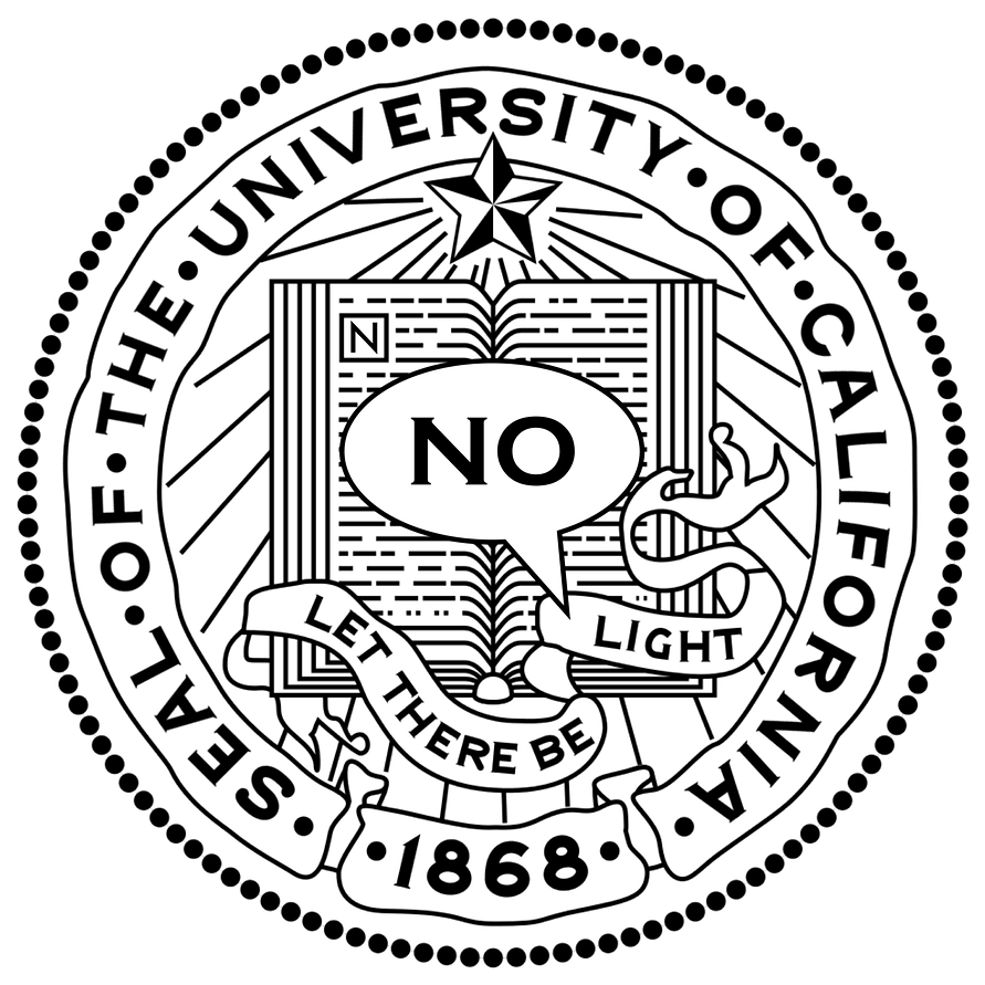 Official UC Seal & Motto: Let There Be NO Light
