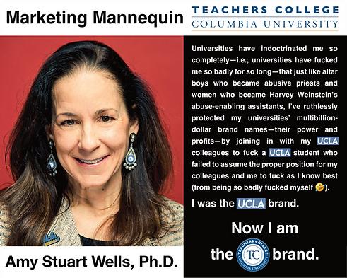 Amy Stuart Wells, Ph.D., Columbia University Teachers College