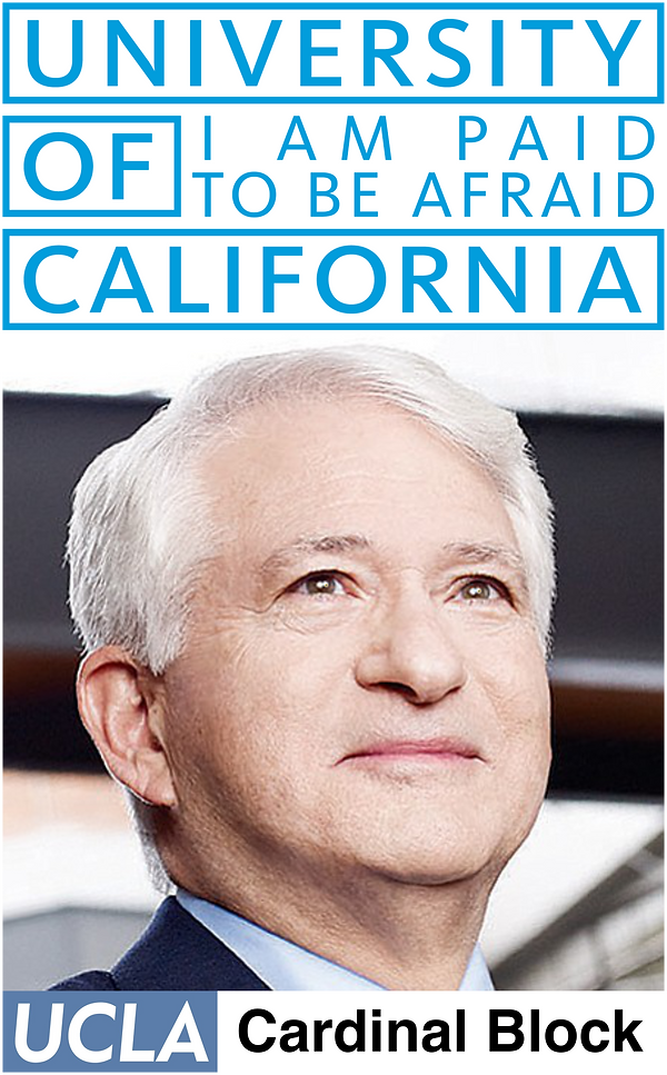 UCLA Chancellor aka UCLA Cardinal Block