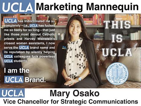Mary Osako, UCLA Vice Chancellor for Strategic Communications