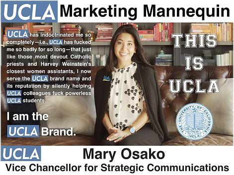 Mary Osako, UCLA Vice Chancellor for Strategic Communications