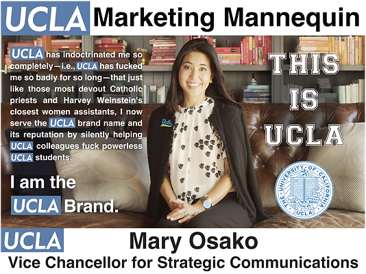UCLA Vice Chancellor for Strategic Communications: Mary Osako