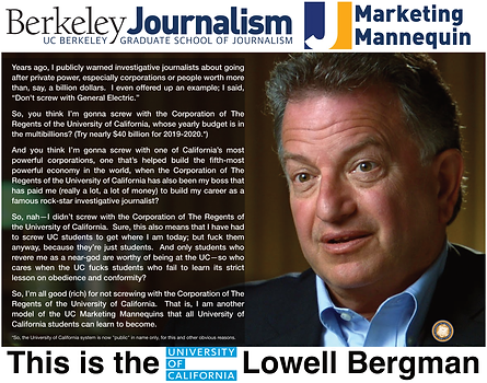 Lowell Bergman; Berkeley Journalism